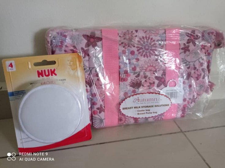 Convertible Bag (Sakura) FREE NUK washable pad - Click Image to Close