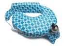 My Brest Friend Nursing Pillow - Blue & Gold Marina